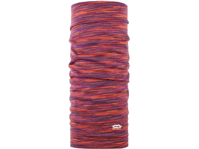 P.A.C. Merino Loop Sjaal, oranje/violet